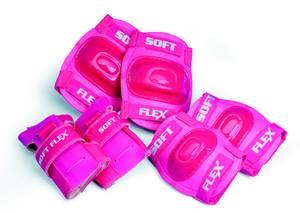 Bilde av Beskyttelsessett rosa 8+ år