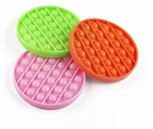 Bilde av Pop-it  Pop'n play rund 3 ass farger