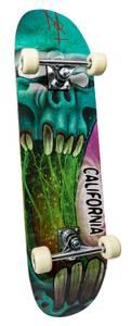 Bilde av California Skateboard alu sjøgrønn