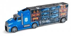 Bilde av Speedcar Polititruck med 6 biler