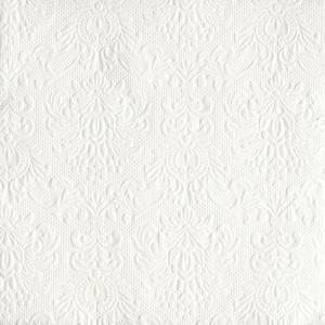 Bilde av Servietter Ambiente 33 Elegance White