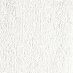 Bilde av Servietter Ambiente 25 Elegance White