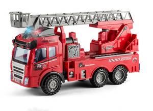 Bilde av Speedcar Construction brannbil med friksjon, lys