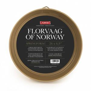 Bilde av FLORVAAG SPRINGFORM GULL Ø26CM