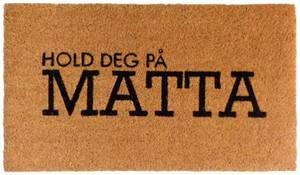 Bilde av Dørmatte Hold deg på matta 40x70cm