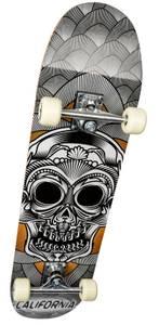 Bilde av California Skateboard alu sort/gul