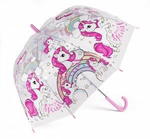 Bilde av Enhjørning Paraply 70cm. Gjennomsiktig