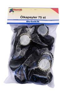 Bilde av Ølkapsler sort 75pk