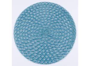 Bilde av Dekkebrikke bomull/plast turkis