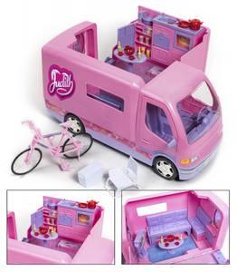 Bilde av Judith megacamper med sykkel