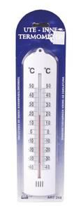 Bilde av Termometer grå plast