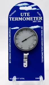 Bilde av Utetermometer 300 (rund stål)