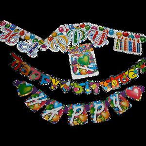 Bilde av Girlander Happy Birthday 1.6m