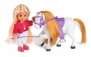Bilde av Sally med hest og tilbehør