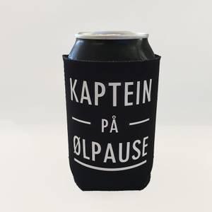 Bilde av Bokskjøler, Kaptein på ølpause