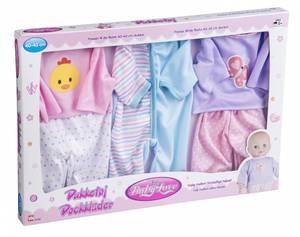 Bilde av My Baby dukkeklær 40-43cm. 3 stk i pk