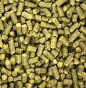 Bilde av STYRIAN GOLDING-CELIA - Pellets 50 g. ALFA 3-6%