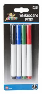 Bilde av Whiteboard tusjer 4 farger i pk