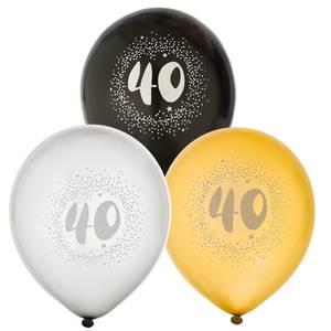 Bilde av Ballonger Bursdag 40år 6pk