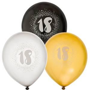 Bilde av Ballonger Bursdag 18år 6pk