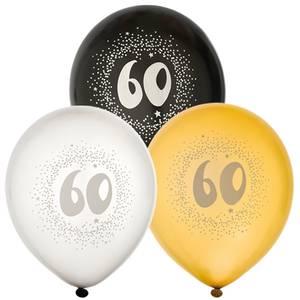 Bilde av Ballonger Bursdag 60år 6pk