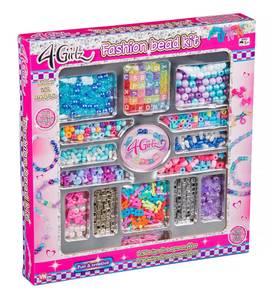 Bilde av 4-Girlz Perlesett med perler, bokstavcharms,