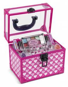 Bilde av 4-Girlz Sminkekoffert med sminke, kunstige negler