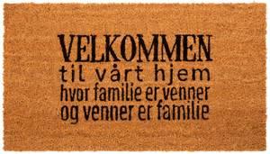 Bilde av Dørmatte Velkommen til vårt hjem... 40x70cm