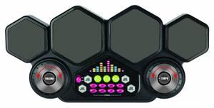Bilde av DJ Multi elec. tromme Med lys, ulike rytmer,