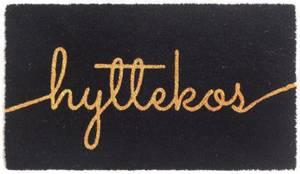 Bilde av Dørmatte Hyttekos sort 40x70cm