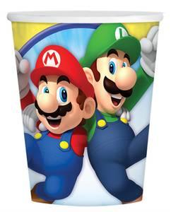 Bilde av Pappkrus Super Mario 8pk