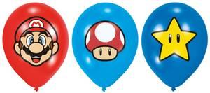 Bilde av Ballonger Super Mario 6pk