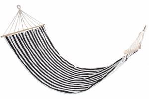 Bilde av Hammock Striper sort/hvit 80x200cm
