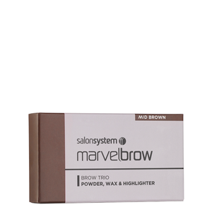 Bilde av MARVELBROW TRIO PALETTE MID BROWN