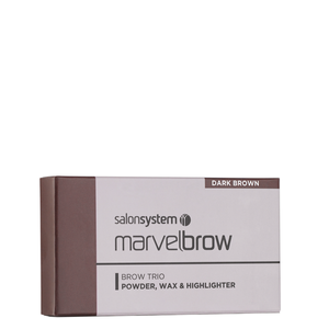 Bilde av MARVELBROW TRIO PALETTE DARK BROWN
