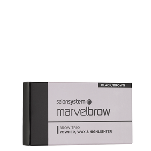 Bilde av MARVELBROW TRIO PALETTE BLACK/BROWN