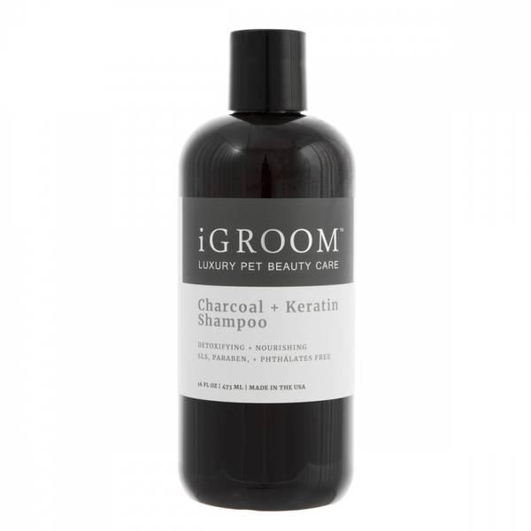 iGroom Charcoal + Keratin Shampoo 473 ml