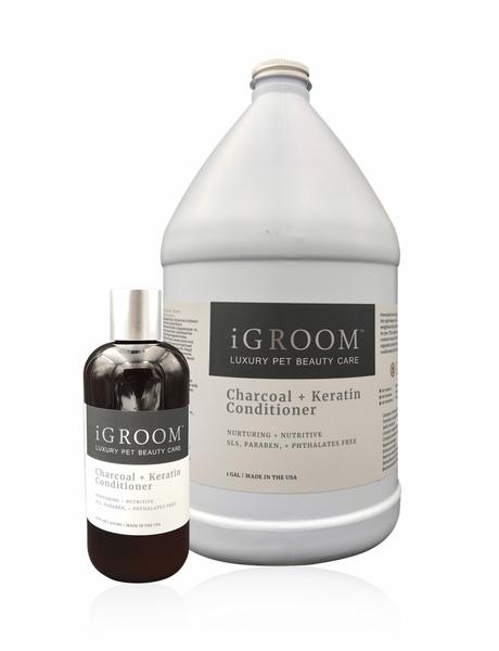 iGroom Charcoal + Keratin Conditioner 473 ml