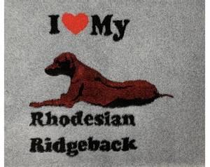 Bilde av Vetbed lysegrå - ridgeback