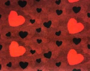 Bilde av Rødmelert med røde & svarte