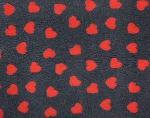 Bilde av Vetbed mørkegrå - røde
