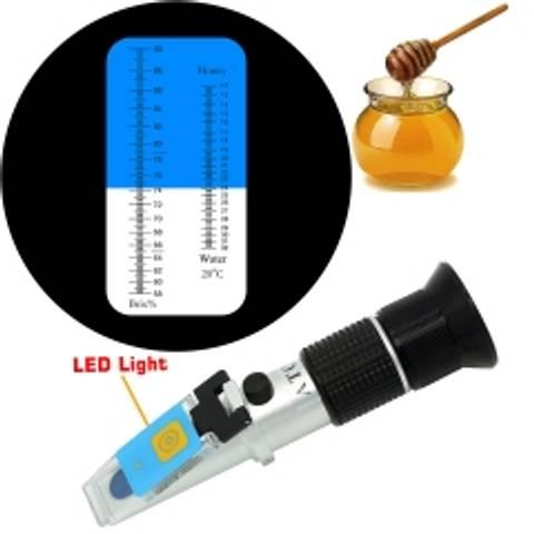 Bilde av Refraktometer med LED og direkte avlesning