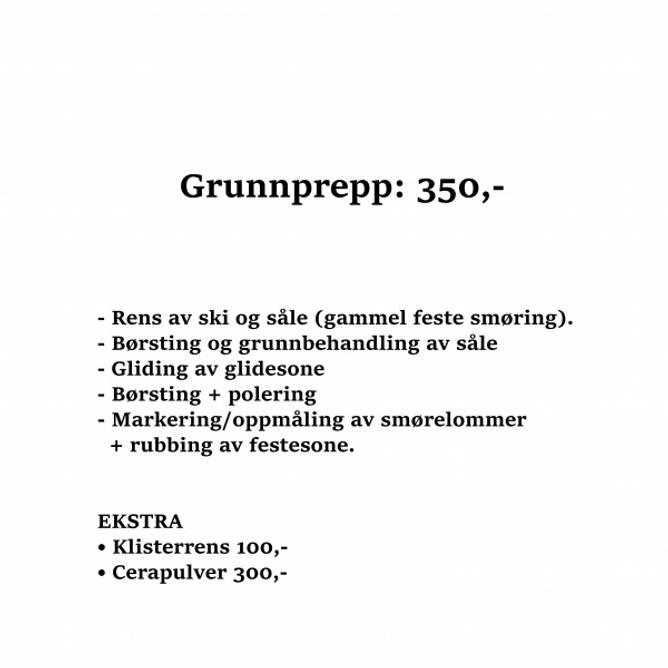 Bilde av Grunnprepp