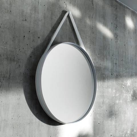 Bilde av Strap Mirror Grey 70 cm HAY