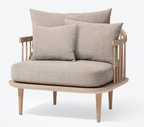 Bilde av Fly Chair SC1 White oak/hot