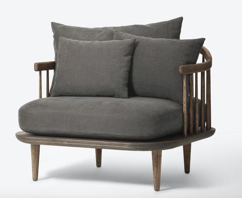 Bilde av Fly Chair SC1 Smoaked oak/hot