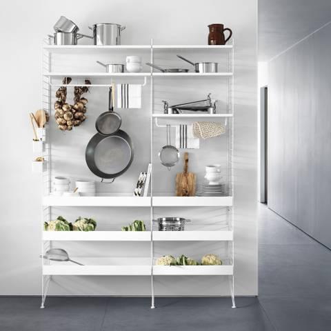 Bilde av Kjøkkenhylle 140 x 200 x 30