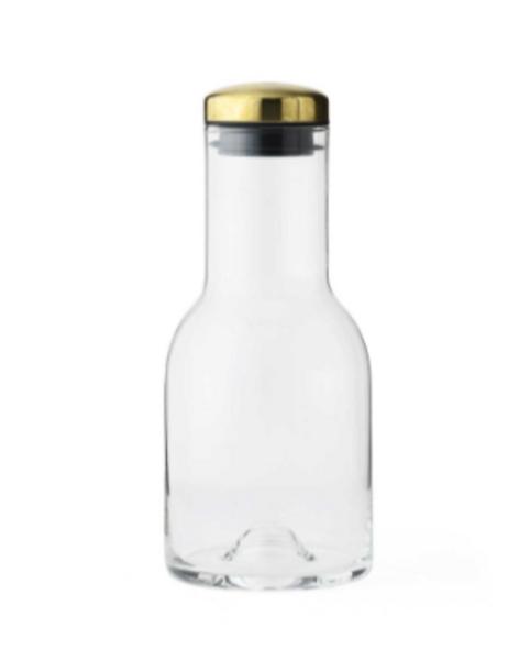 Bottle Carafe 0,5 L Messing Menu