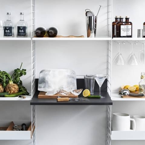 Bilde av Kjøkkenhylle 200 x H 200 x D