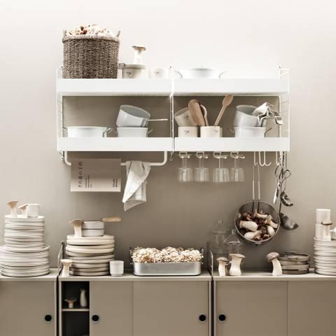 Bilde av Kjøkkenhylle 120 x 50 x 30,